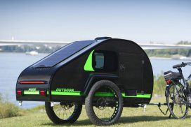 Idea to install solar cells. With a mini size mattress to appease Solo Camping Adventure!